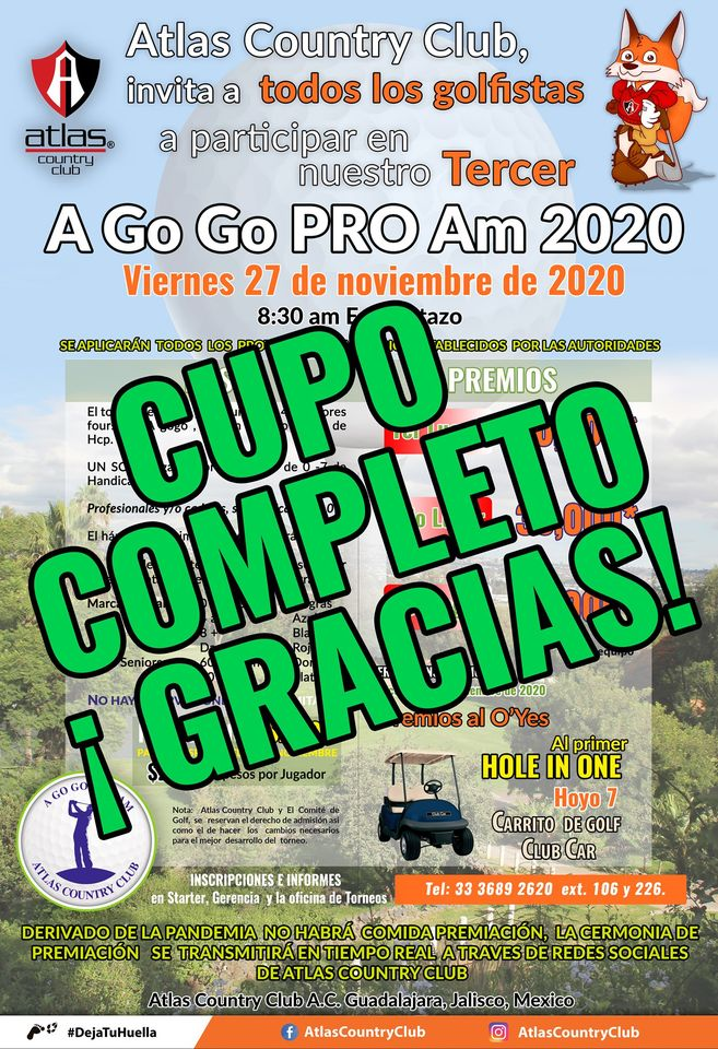 Torneo A Go Go PRO Am 2020